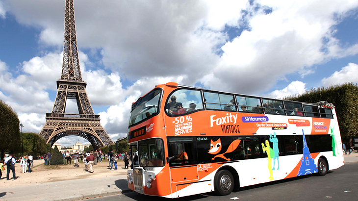 Bus Foxity paris