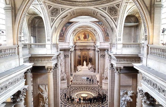 Panthéon de Paris interieur