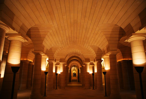 crypte du Panthéon de paris