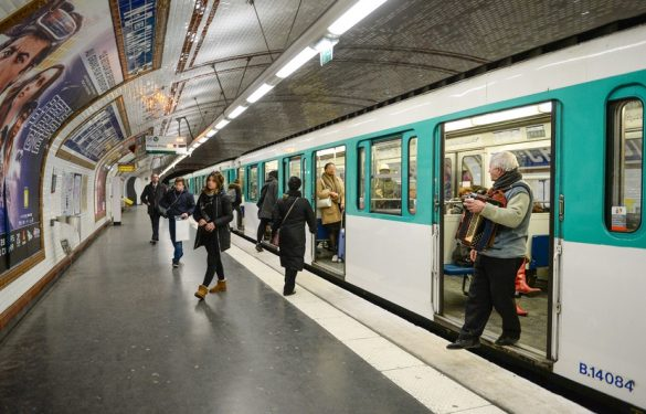 rame métro paris
