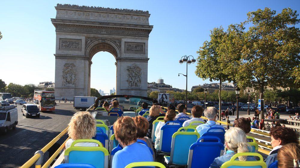 visiter paris en bus touristique