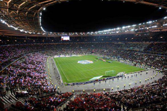 stade de france match de foot