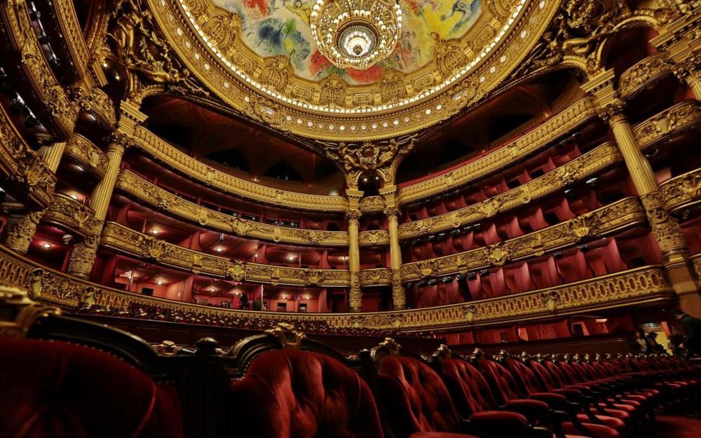Palais Garnier musique classique