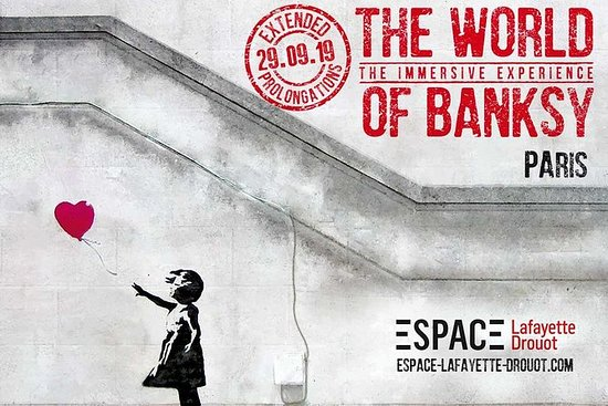 The World of Banksy The Immersive Experience — Espace Lafayette Drouot Paris 2020