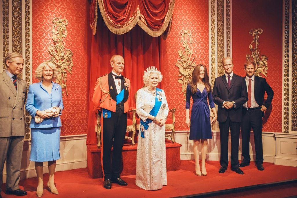 famille royal au Musée Grévin
