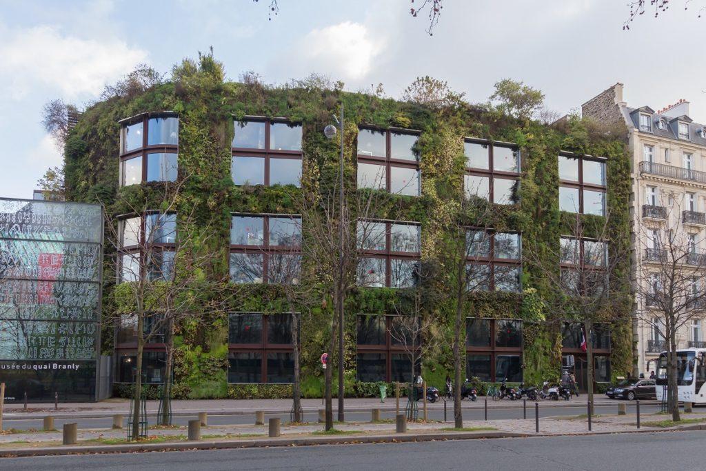 musée du quai de Branly mur végétal