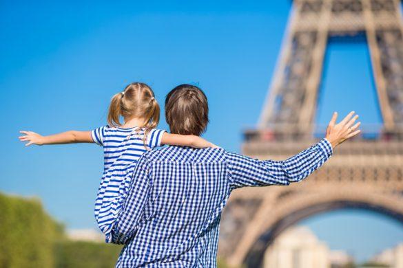 visiter à Paris en famille avec des enfants
