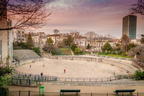 Arènes de Lutèce Paris