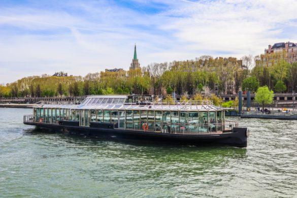 croisières dîner sur la Seine à Paris