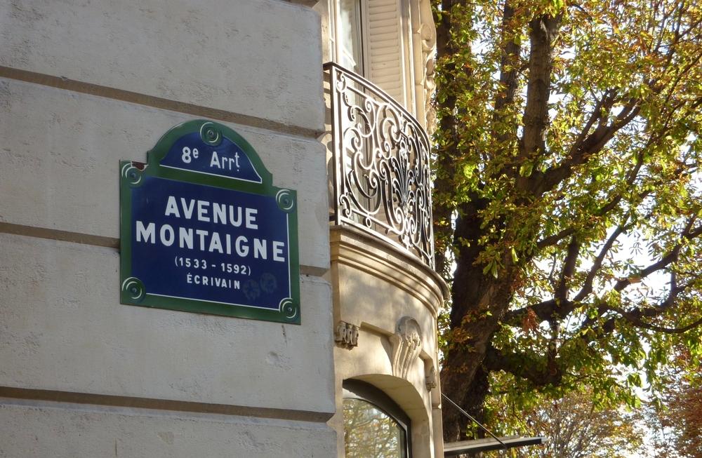 Se promener avenue Montaigne