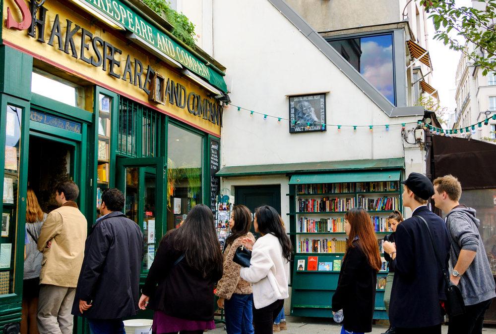 Où trouver une librairie anglaise à Paris?
