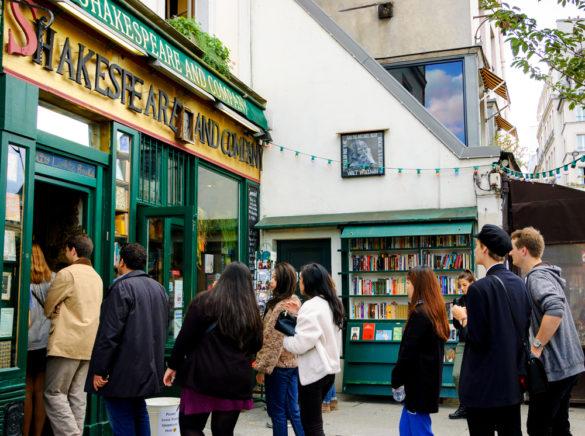 Où trouver une librairie anglaise à Paris
