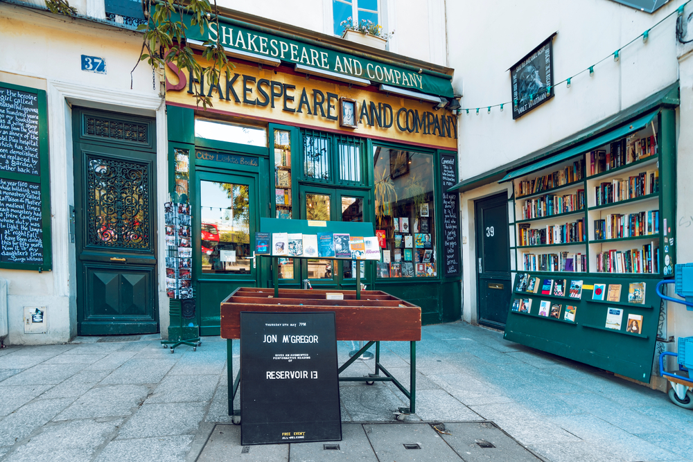 librairie anglais à Paris
