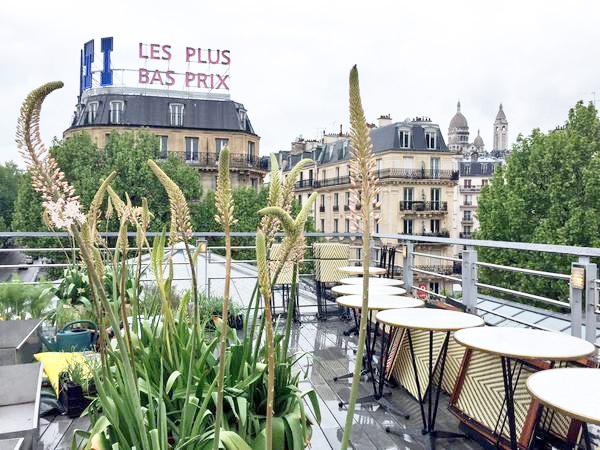 rooftop de la Brasserie Barbès