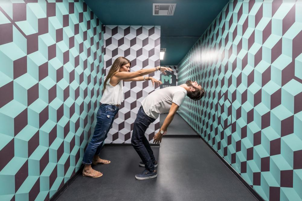 Un petit tour au musée de l'illusion