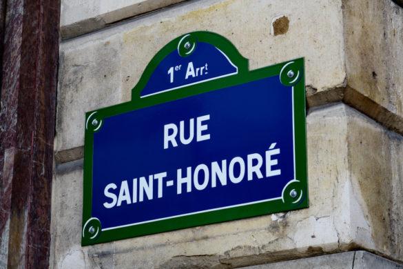 Rue St Honoré, découvrir la mythique rue parisienne