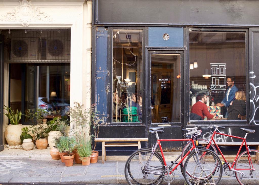 Fragments paris cafe
