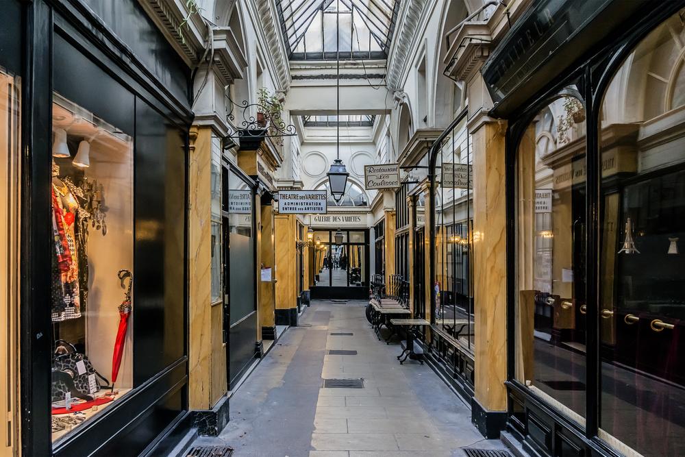 passage des panoramas de Paris