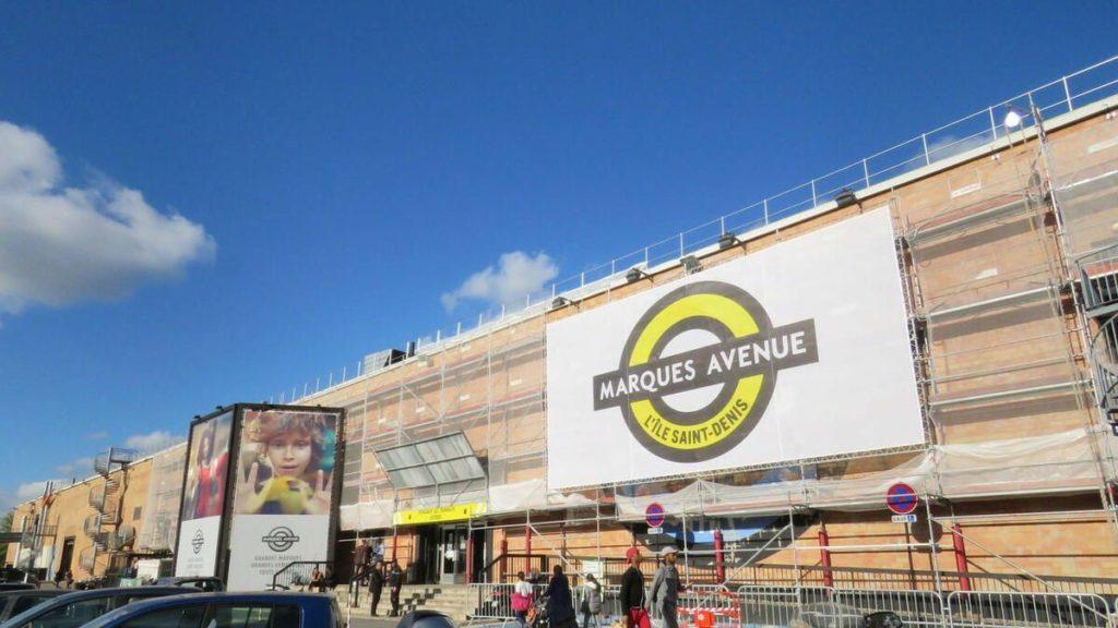 magasins usine outlets paris