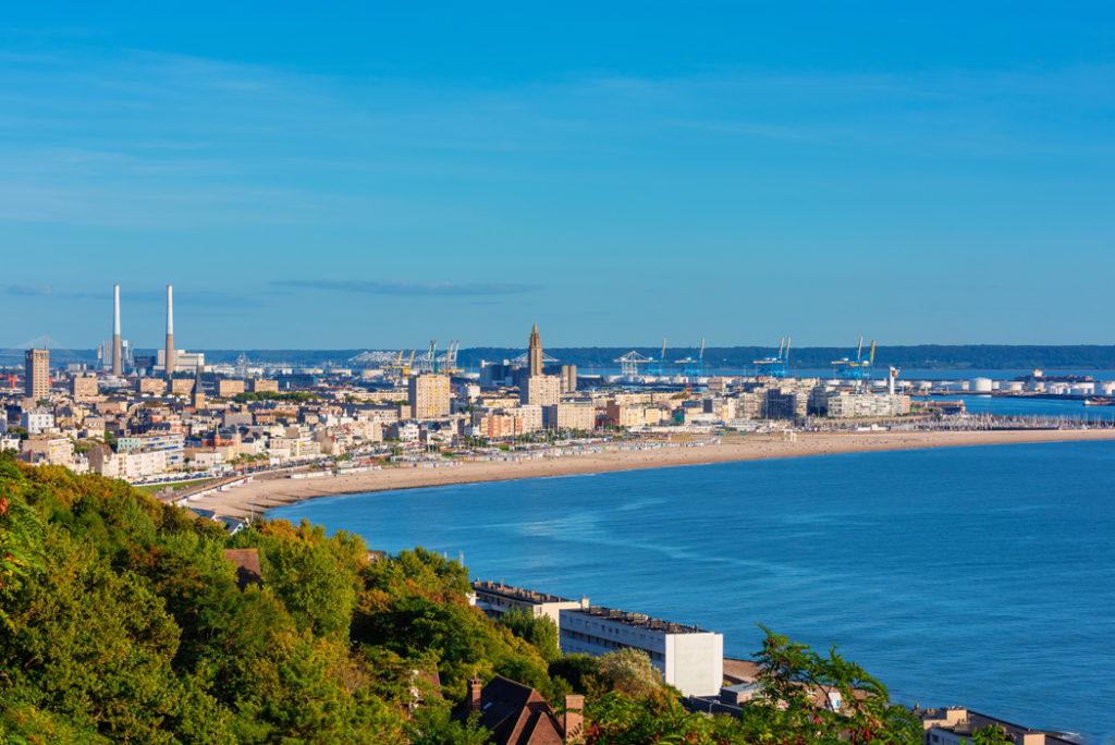 Le Havre france vacances pres de Paris